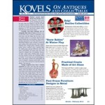 "The February 2014 ""Kovels on Antiques and Collectibles"" newsletter features Beatles collectibles, Snow Children, Tiffany flatware, Paul Evans furniture and art glass cruets ""then and now,"" all with photos and prices."