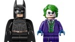 Batman and Joker from the 2008 motion picture in Lego form.