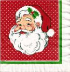 Jacob's very first napkin (shown here from his website) was given to him when he was nine years old.