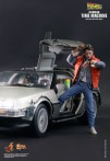 Back to your wallet! Hot-Toys Back To The Future Collectible figure retails for a mere $500.00.
